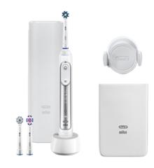 Oral-B - Genius 8200W Eltandbørste - Sølv