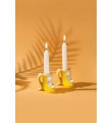 Candlestick - Banana Romance (2 stk.) (210735)
