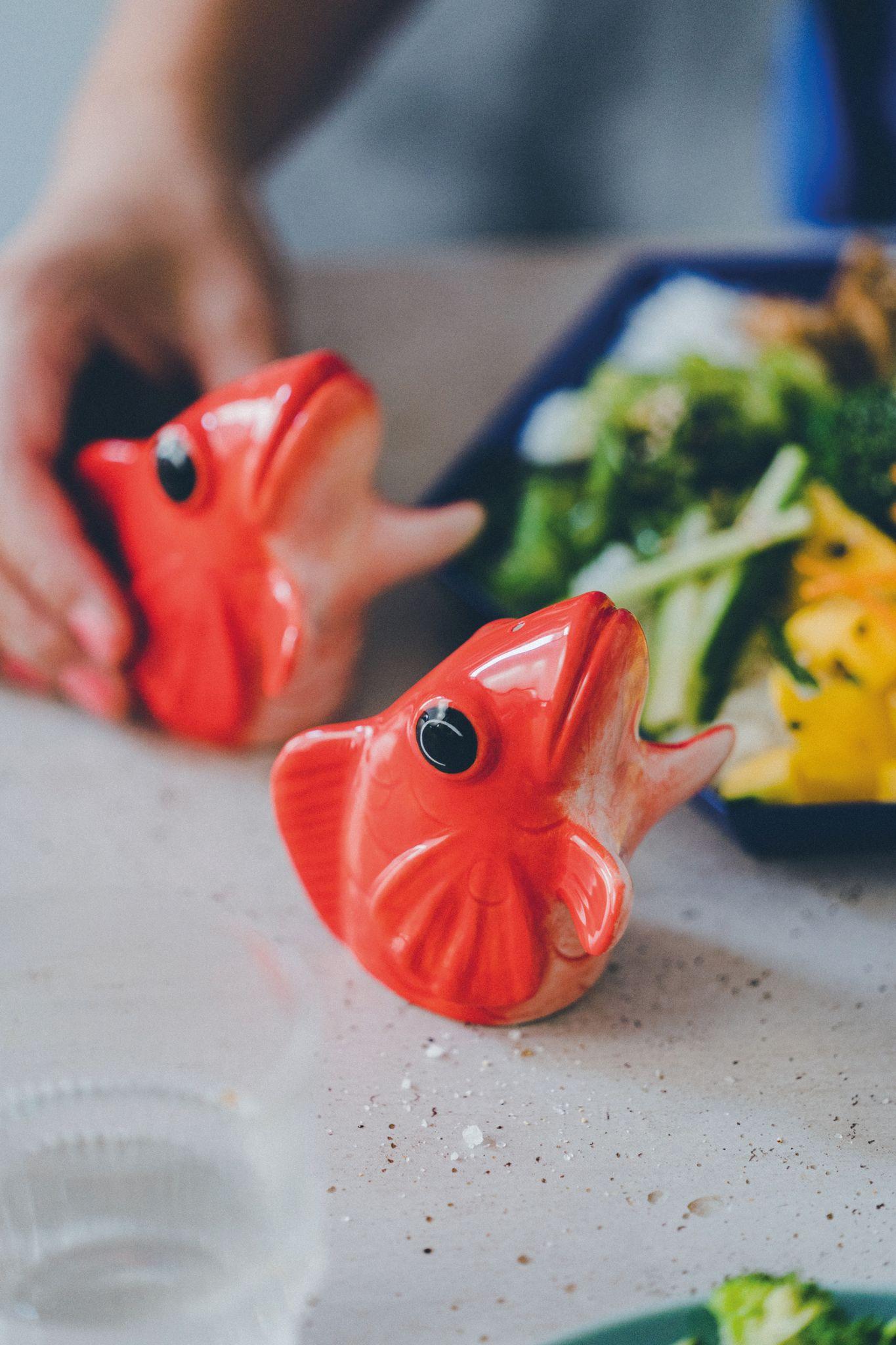 Salt&pepper Dispenser - Fishes for Dishes (210730)