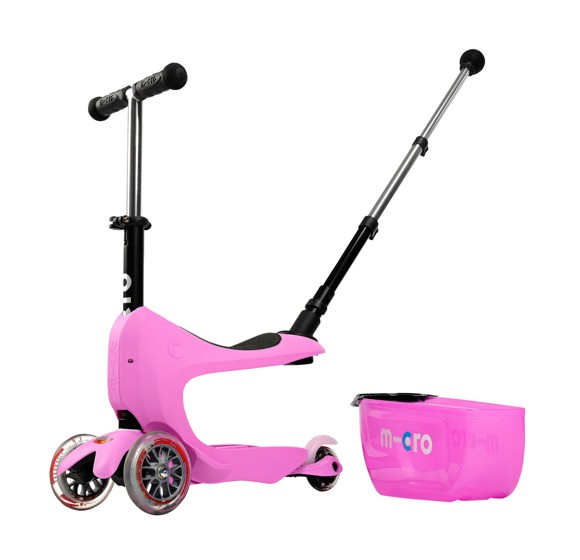 Micro - Mini2go Deluxe Plus Scooter - Pink (MMD033)