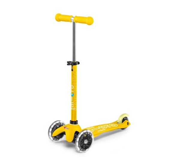 Micro - Mini Deluxe LED Scooter - Yellow (MMD053)