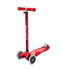 Micro - Maxi Deluxe LED Scooter - Red (MMD068)