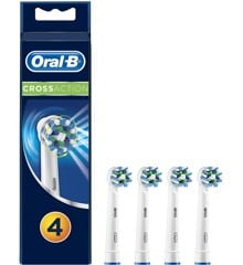 Oral-B - CrossAction Toothbrush Head (4 Pcs)