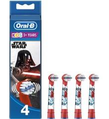 Oral-B - Børstehoveder Med Figurer Fra Star Wars (4 stk)