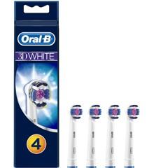 Oral-B - 3DWhite Børstehoveder (4 stk)