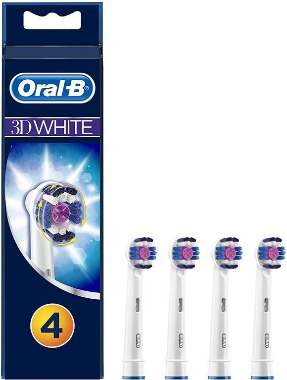Oral-B - 3DWhite Toothbrush Head (4 Pcs) (E)