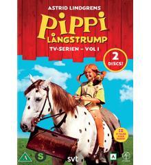 Pippi Långstrump Tv-Serie Box 1 (2-Disc)