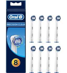 Oral-B - Precision Clean Børstehoveder (8 stk)