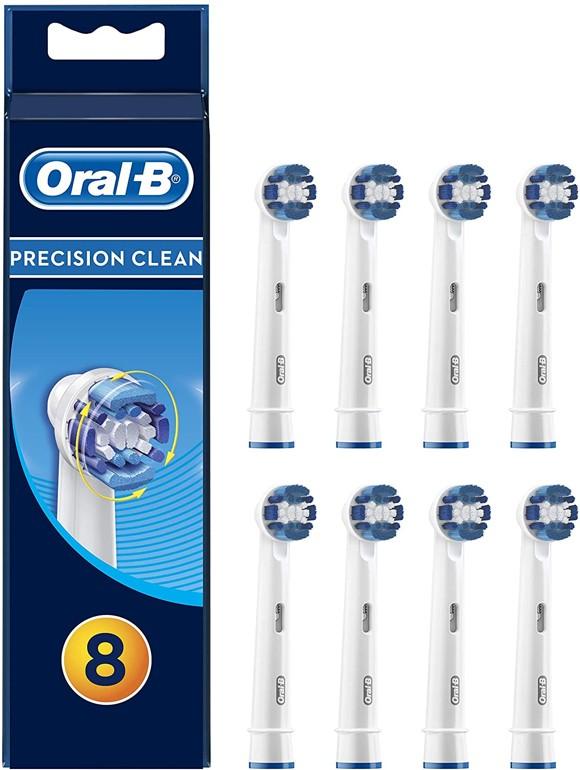 Oral-B - Precision Clean Toothbrush Head (8 Pcs) (E)