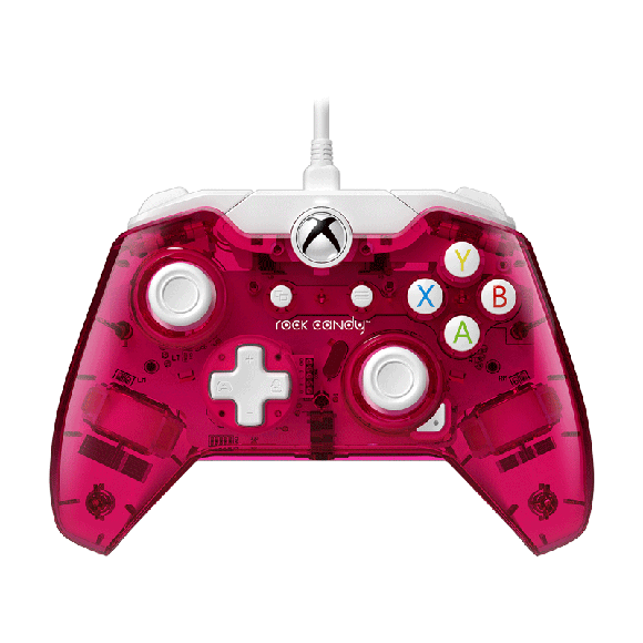 Xbox One Wired Controller Rock Candy Cranblast