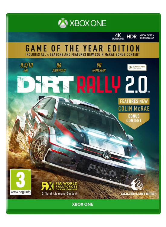 coolshop.co.uk - DiRT Rally 2.0 (Game of the Year Edition)