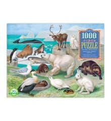 eeBoo - Puzzle - Beautiful World Arctic, 1000 pc ( EPZTARC)
