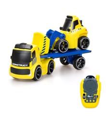 Silverlit - Tooko - Lastbil med Bulldozer