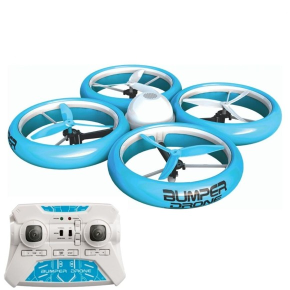 Silverlit - Bumper Drone - Grøn