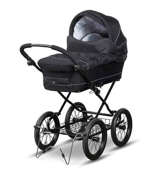 Trille - Fix Standard Pram - Black Alligator