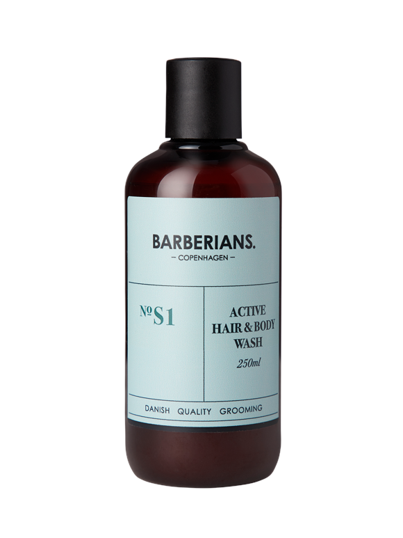 Barberians Copenhagen - Active Hair & Body Wash 250 ml