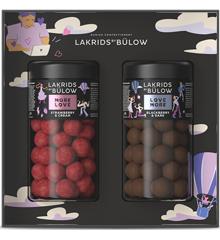 Lakirds by Bülow - Geschenkverpakking 2x Regular Love - drop omhuld in chocolade - 590g