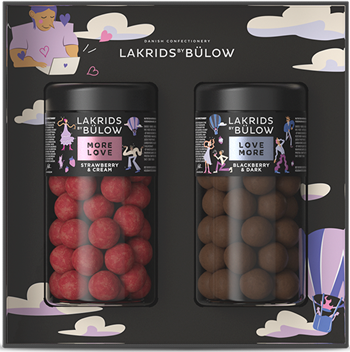 Lakrids By Bülow - ?Black Box 2 x Regular Love 590 g (500317)