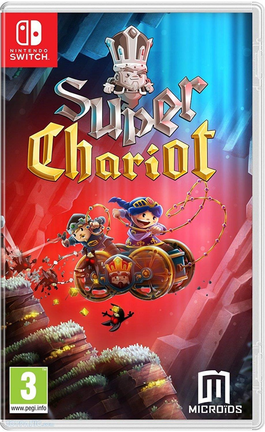 Super Chariot  Replay (Code in a Box)