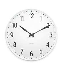 Arne Jacobsen - Station Wall Clock Ø 48 cm - White (43663)