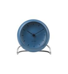 Arne Jacobsen - City Hall Table Clock - Blue (43691)