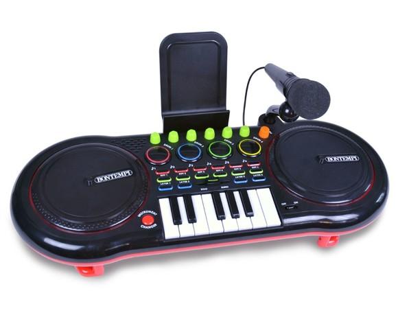 Bontempi - DJ-mixer med Mikrofon og Keyboard (181000)