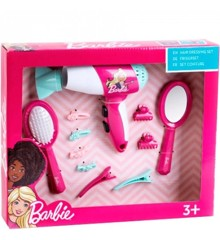 Barbie - Hair Dressing Set w. Hair Dryer and Accessories (KL5790)