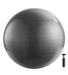Inshape - Fitnessbold Med Pump 65 cm - Sølv