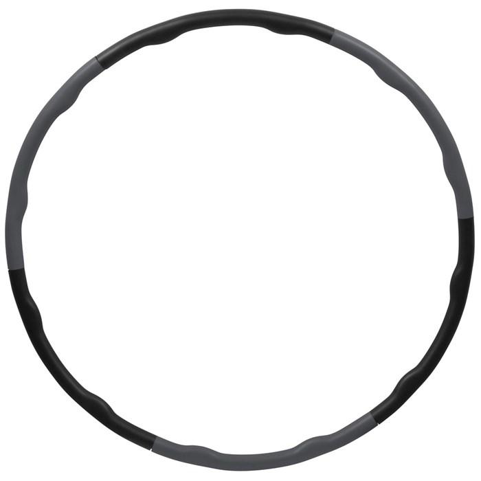Inshape - Fitness Hulahop Ring Ø 100 cm - Black/Grey (17555)