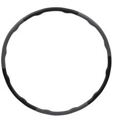 Inshape - Fitness Hulahop Ring Ø 100 cm - Sort/Grå