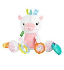 Bright Starts - Take-Along Activity Rattle, Unicorn (12290)