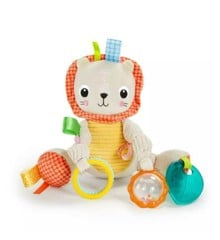 Bright Starts - Take-Along Activity Rattle, Tiger (12291)