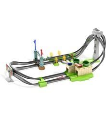 Hot Wheels - Mario Kart Circuit Track Legesæt m. 2 Køretøjer