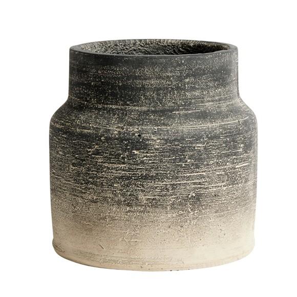 Muubs - Kanji Jar 22 cm - Grey (9240000101)