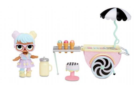 L.O.L. Surprise - Furniture- Ice Cream Pop-Up with Bon Bon