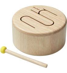 Plantoys - Solid Drum-Natural (6439)