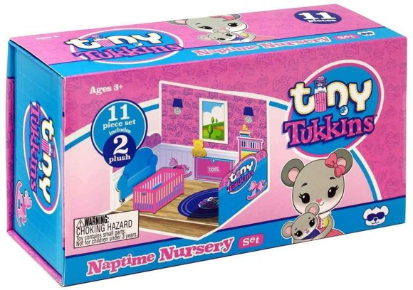 Tiny Tukkins - 11 pcs. Playset - Naptime Nursery