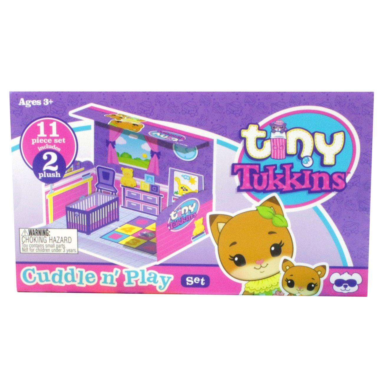 Tiny Tukkins - 11 pcs. Playset - Cuddle of play