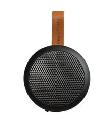 KreaFunk - aGO Bluetooth Højtaler - Sort Editon/Gun Metal Grill