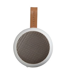 KreaFunk - aGO Bluetooth Speaker - White/Rose Gold Grill (Kfwt31)