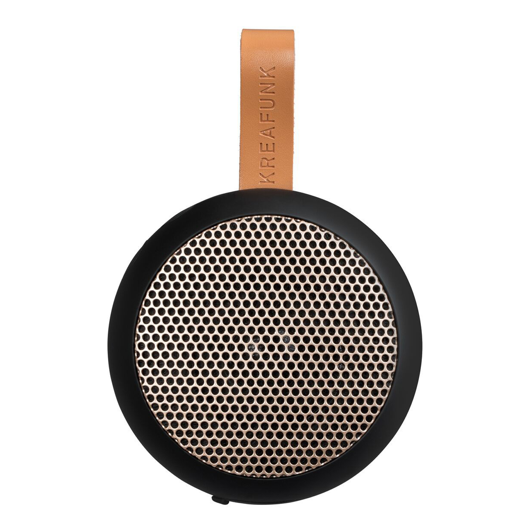 KreaFunk - aGO Bluetooth Speaker - Black/Rose Gold Grill (Kfwt32)