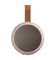 KreaFunk - aGO Bluetooth Højtaler - Støvet Pink/Rose Guld Grill