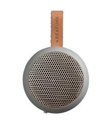 KreaFunk - aGO Bluetooth Højtaler - Cool Grey/Rose Guld Grill