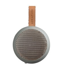 KreaFunk - aGO Bluetooth Speaker - Cool Grey/Rose Gold Grill (Kfwt34)