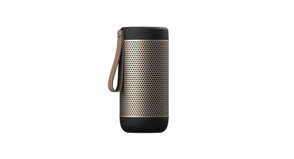 KreaFunk - aCOUSTIC Bluetooth Speaker - Black (Kfwt42)