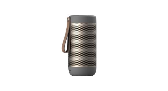 KreaFunk - aCOUSTIC Bluetooth Speaker - Cool Grey (Kfwt44)