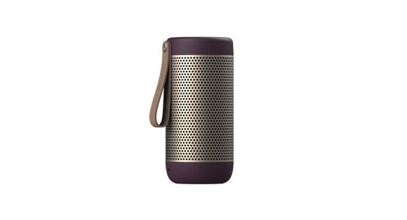 KreaFunk - aCOUSTIC Bluetooth Speaker - Urban Plum (Kfwt45)
