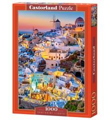 Castorland - Puzzle 1000 Pieces - Santorini Lights