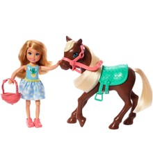 Barbie - Chelsea & Pony (Blonde) (GHV78)