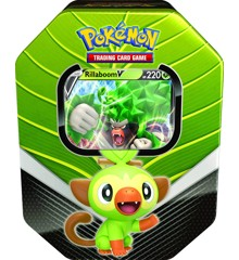 Pokemon - Galar Partners Tin- Rillaboom (POK80678A)